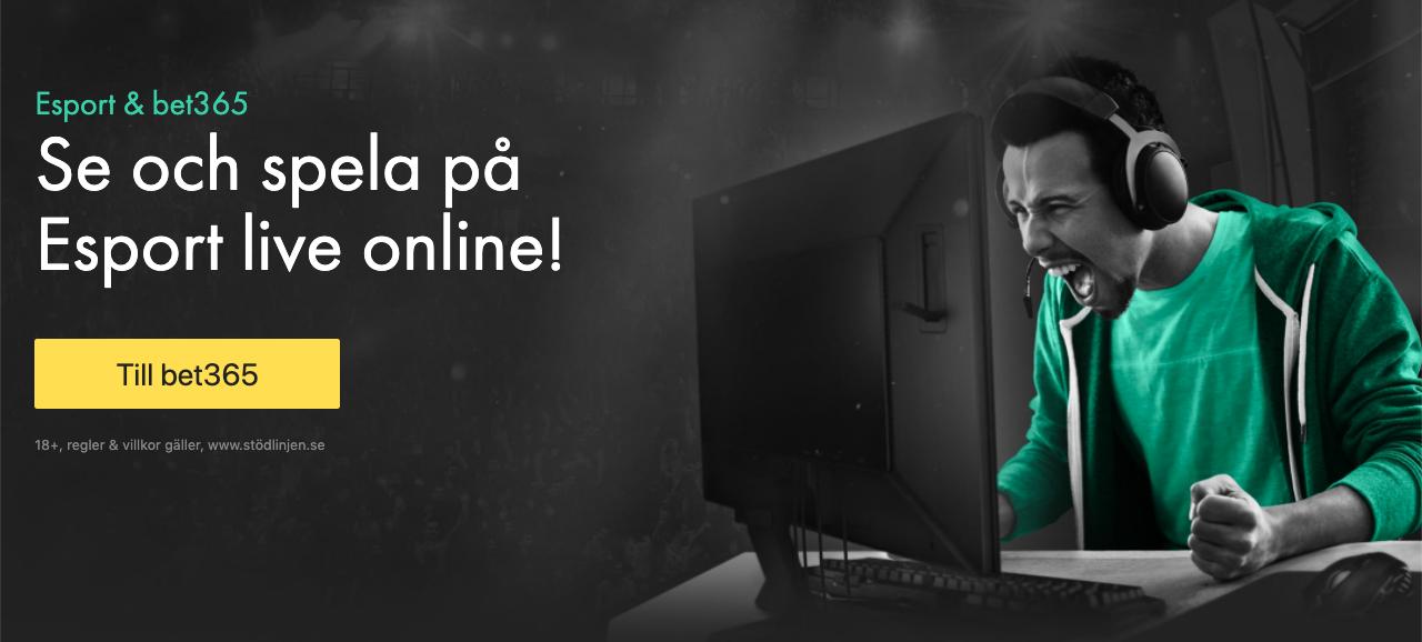Esport live stream och betting