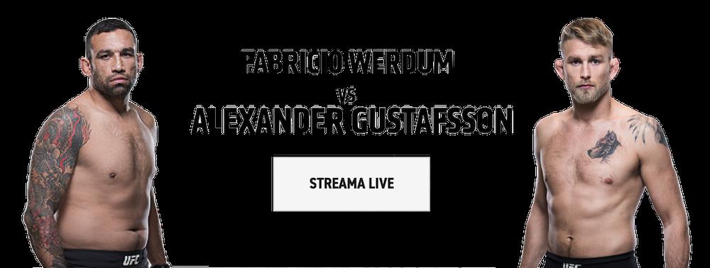 Streama Gustafsson vs Werdum stream live? UFC Fight Night live inatt!