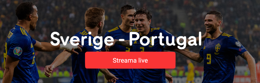 Sverige Portugal livestreaming - Streama Sverige Portugal livestream online!