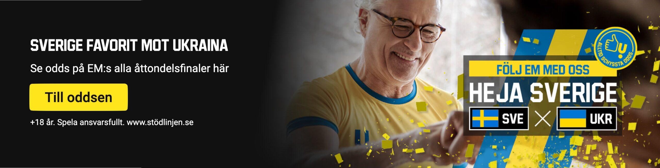 Sverige Ukraina live stream gratis