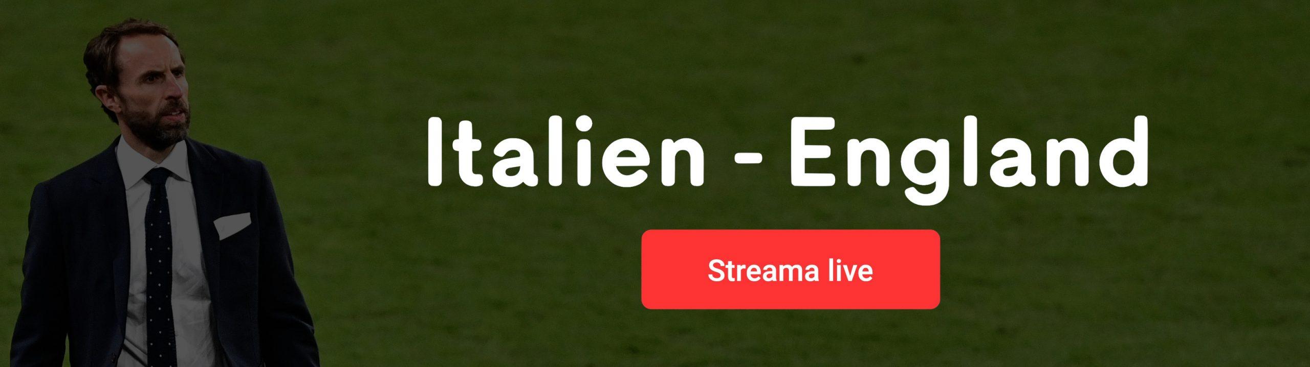 Italien England live stream gratis