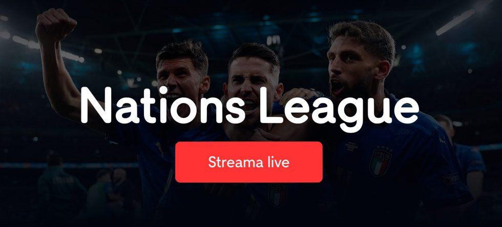 se och streama Italien Spanien live ikväll