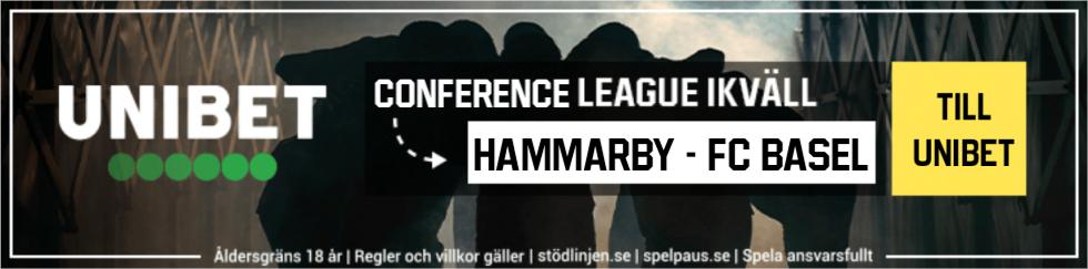 Hammarby Basel live stream gratis