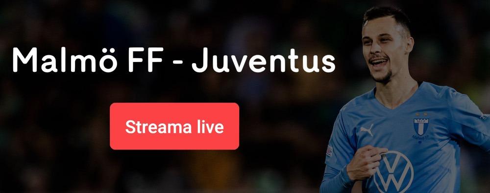 Malmö FF Juventus live stream gratis